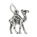 Sterling Silver Double Sided Camel Charm