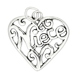 Sterling Silver Niece Charm or Pendant