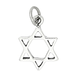Sterling Silver Jewish Star of David Charm