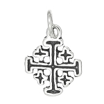 Sterling Silver Small Cross Charm