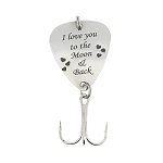 LGU® Monogrammed Personalized Hook Fishing Lure