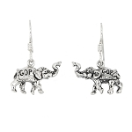 Sterling Silver Republican GOP earrings