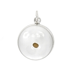 Wholesale Total 6 pieces of Sterling Silver Symbol of Faith Mustard Seed Charm Pendant