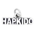 LGU® SterlingSilver Oxidized Sport Hapkido Charm (With Options)