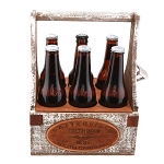 Monogrammed Personalized Rustic Wooden Beer Tote Personalize Beer Caddy Groomsmem Gift Christmas Gift House Warming Gift Beer 6 pack carrier *** WE CAN ONLY SHIP THIS ITEM USING USPS PRIORITY.  PLEASE CHOOSE USPS PRIOIRTY AT CHECK OUT.