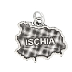 LGU® Sterling Silver Oxidized Ischia Charm -with Options