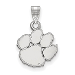 Sterling Silver Clemson University Small Pendant Only